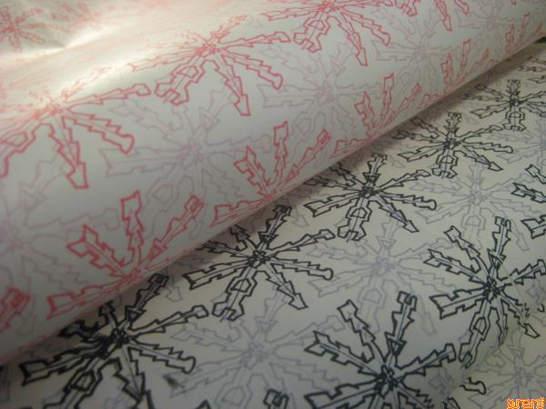 Print your own Christmas Wrapping paper.