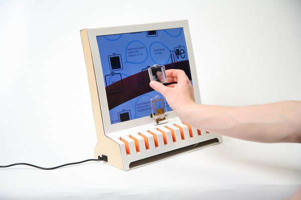 jive using a 3 point tangible user interface.